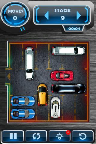 coches en el parking