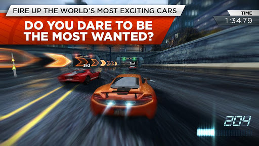 carrera en need for speed most wanted