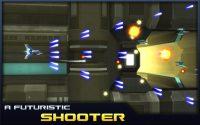 captura del juego donde una nave dispara a sus enemigos