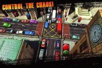 intersección de dos calles en Traffic panic