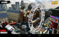 Gran ojo de londres en Traffic panic