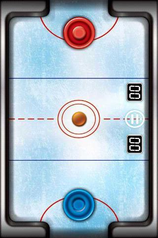 captura de pantalla del juego donde se ve el disco y los dos mazos