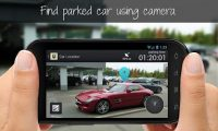 modo de búsqueda del vehículo usando la realidad aumentada