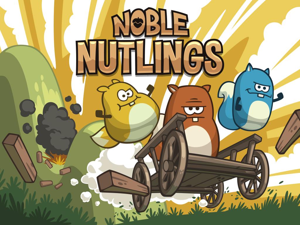 Portada del juego NobleNutlings
