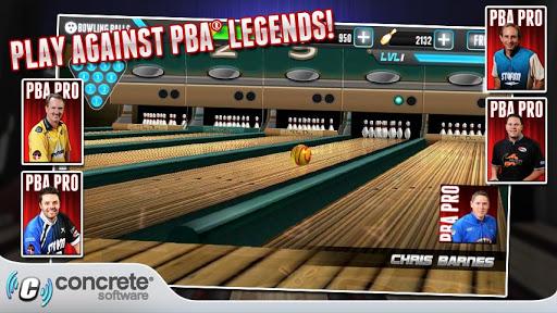 diferentes personajes de PBA® Bowling Challenge
