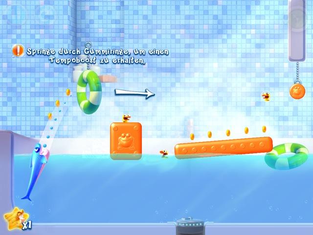 Imagen del juego SharkDash
