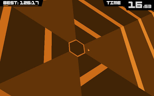 Captura de Super Hexagon