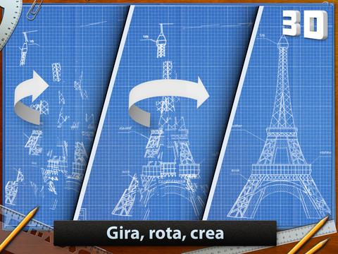 Imagen del juego blueprint para iPad
