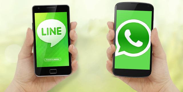 line contra whatsapp