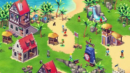 Imagen del campamento de playmobil piratas