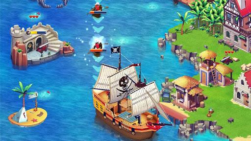 Imagen de un barco en playmobil piratas