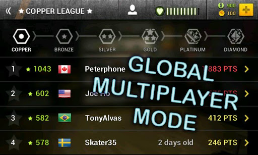 multiplayer en Boardtastic Skateboarding 2