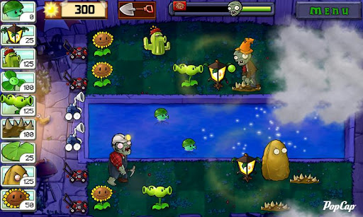 captura de Plants vs. Zombies