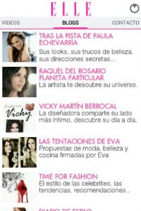 blogs en la revista elle