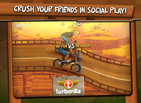 Captura del juego mad skills bmx para ios