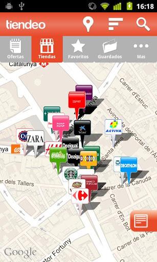 mapa en Tiendeo - Ofertas y tiendas