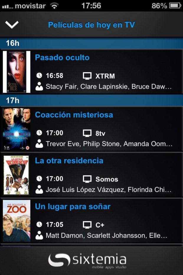 Imagen de la App Estrenos