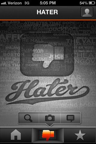 capturas de Hater App