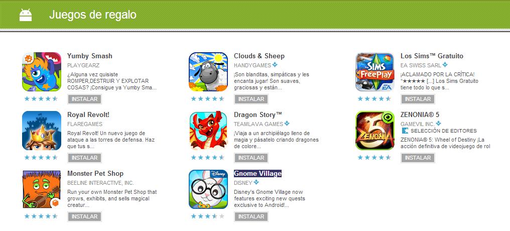 play google gratis juegos
