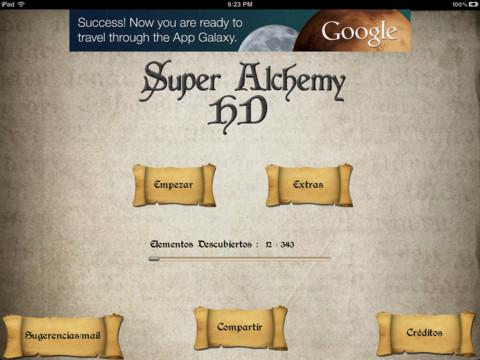 Imagen del juego super Alchemy HD