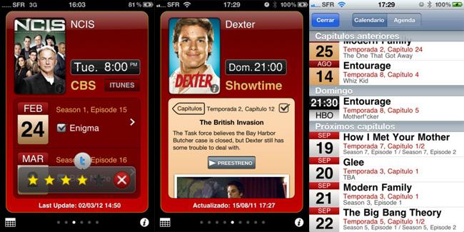 Imagen de la App TV Show tracker