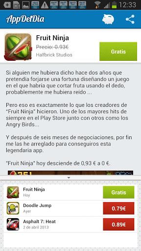 captura de App del Día