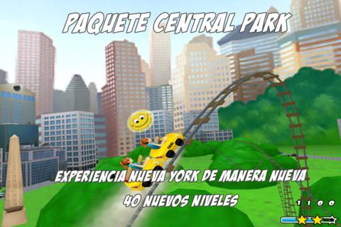captura de 3D Rollercoaster Rush NewYork