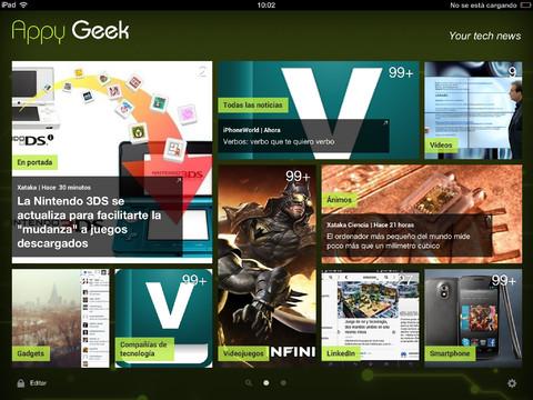 AppyGeek para iPad