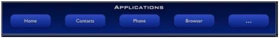 capa de Aplicaciones en android