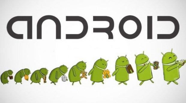 evolución de las versiones android
