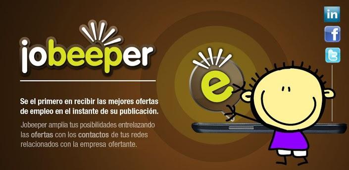 Jobeeper: ¡ofertas de empleo en tu móvil al instante!