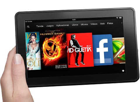 tableta KindleFire Android