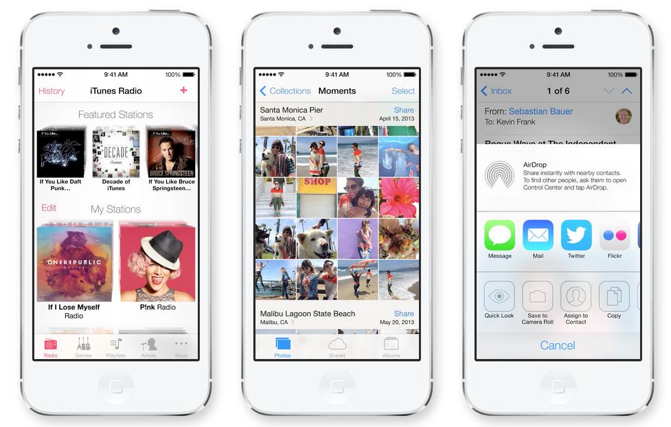 iTunesRadio, app de iOS7