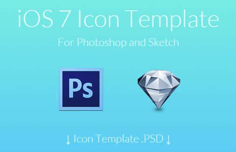 Iconos , plantilla iOS7