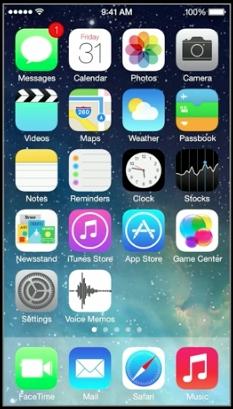 Voice memo en iOS7