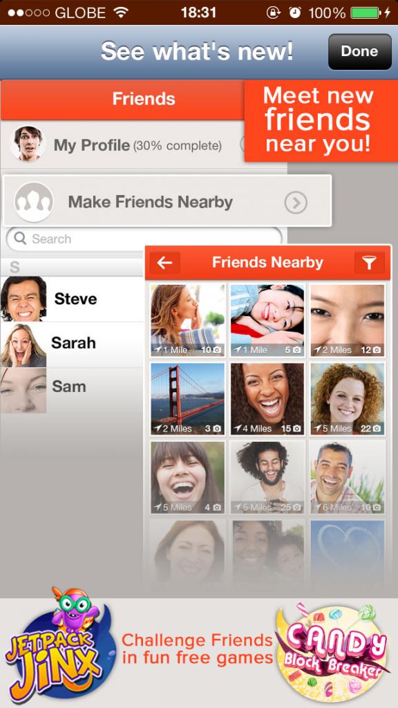 Tango Messaging App