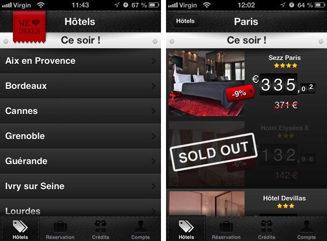App VeryLastRoom Francia