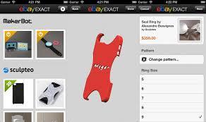 App Ebayexact, iOS