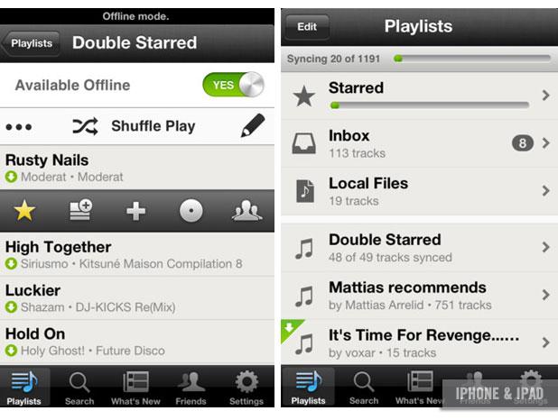 App, Spotify iOS
