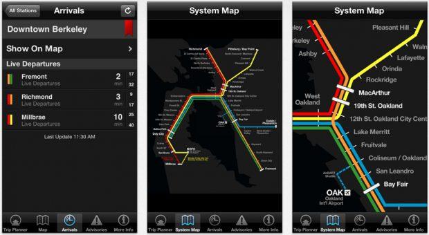 App mapas Embark