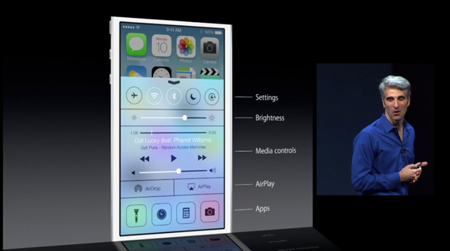 Nuevo iOS7 Apple