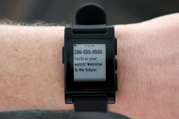 Reloj inteligente Pebble