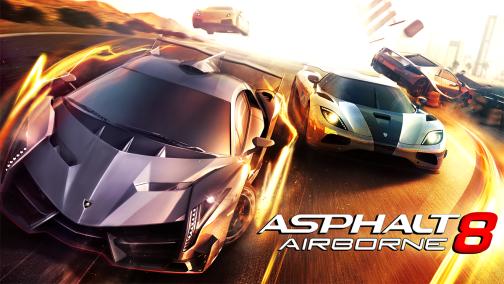 Asphalt 8:Airbone iOS y Android