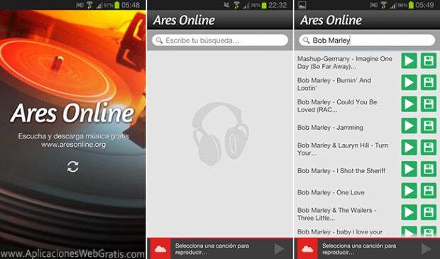 App Ares Online