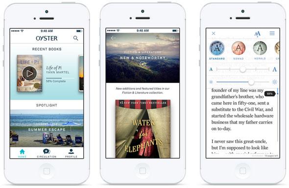 App Oyster iOS