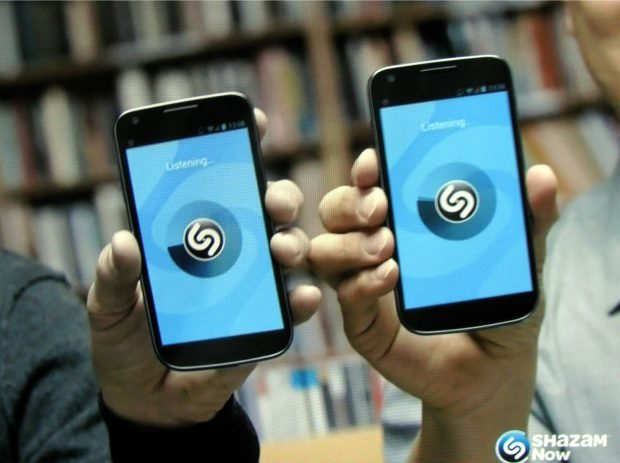 Shazam iOS y Android