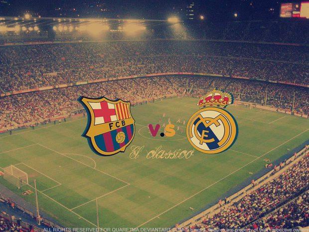 Barça y Madrid Line