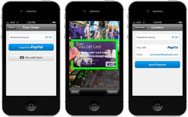 App PayPal iOS y Android