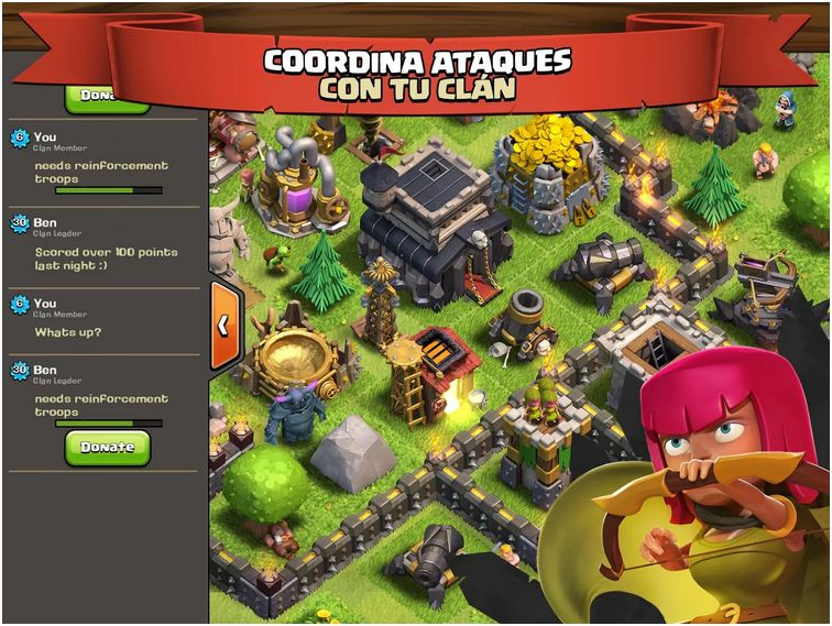Clash of Clans por fin llega a Android