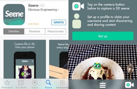 App Seene iOS
